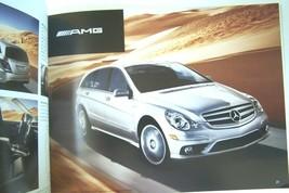 2007 mercedes r class sales brochure r350 r320 cdi  r500 r63 amg new original - $12.86