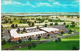 Holiday Inn Postcard East Springfield Illinois Curt Teich Advertising Hotel - $2.23