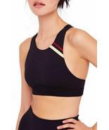 Free People Freestyle OB816384 Soutien-gorge Activewear Slim Noir Taille XS - $27.55