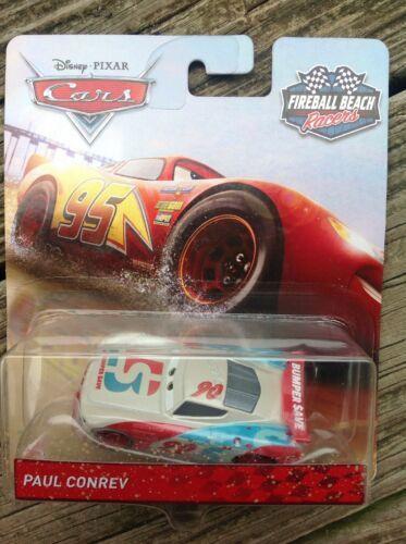 Disney Pixar Fireball Racers Paul Conrev Car 2018