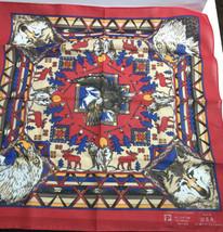 "Paris accessories Bandana Native American Western  Bandanna 20"" USA MADE... - $27.72"