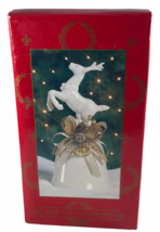 May Department Stores 1995 Home For The Holidays 6 inch Reindeer Christm... - $12.86