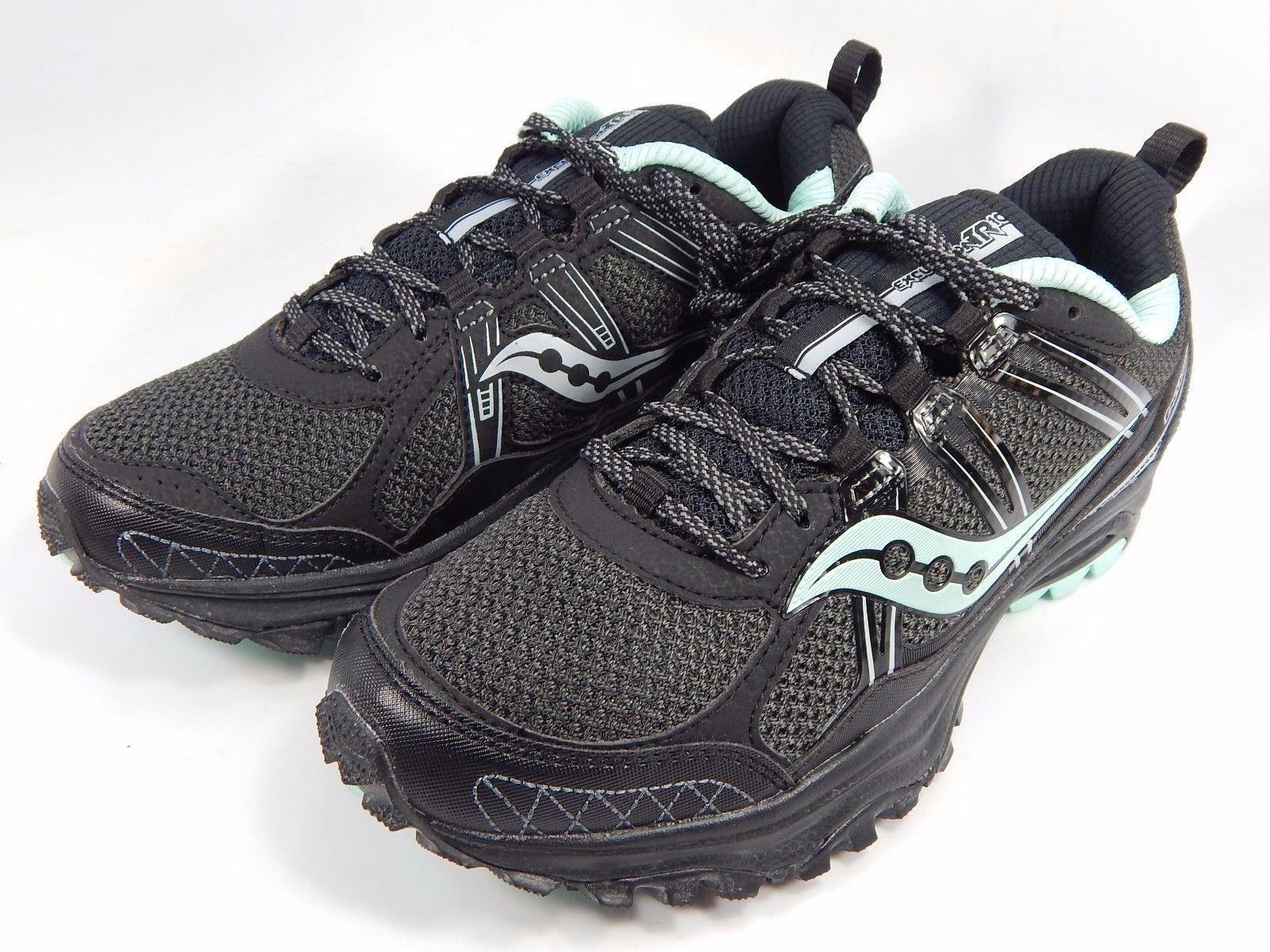 Saucony Excursion TR 10 Women's Running Shoes Sz US 7 M (B) EU 38 Black S15301-2