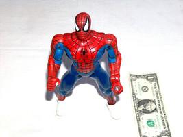 """2001 Marvel Peter Parker 10 """" Spider-Man Action Figure Bianco Web Scarpe - $9.20"""