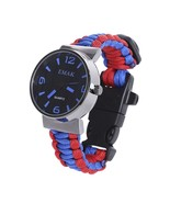 EMAK Multifunctional Survival Paracord(BLUE AND RED) - $10.49