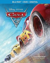 Disney Pixar Cars 3 [Blu-ray+DVD+Digital] (2017)