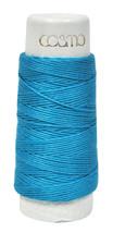 Cosmo Hidamari Sashiko Solid Thread 30 Meters Caribbean Sea - $6.24