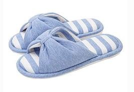 (Made By Cotton) Skidproof The Simple Style Of Home Slippers(Sky Blue)