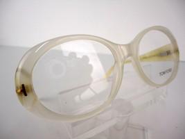 Tom Ford TF 5246 Milky Cream/ Opal (024) 53 x 17 140  mm Eyeglass Frames - $89.05