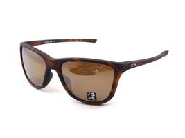 Oakley Reverie POLARIZED Sunglasses OO9362-0555 Tortoise W/ Tungsten Iridium - $69.29
