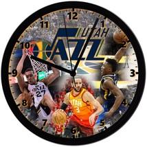 "Utah jazz Homemade 8"" NBA Wall Clock w/ Battery Included - $23.97"