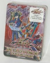 Konami Yu Gi Oh Trading Card Duelist Pack Tin RED 5D's Yusei Foils Starl... - $33.20