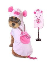 Dog Costume PIG COSTUMES Dress Your Dogs as Farm Animal Pink Piglet(Size 5) - $37.72