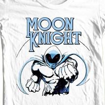 Moon Knight T-shirt Silver Age comic books retro 70s comics cotton graphic tee image 1