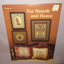 For Hearth Home Cross Stitch Leaflet 4 Stoney Creek Patterns Girl Boy Ducks - $10.99