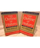 The Outline of History: The Whole Story of Man, by H.G. Wells. Volumes I... - $41.92