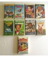 Lot of 9 8x Walt Disney VHS Movies Aladdin Gordy & 1 MGM Chitty Chitty B... - $14.24
