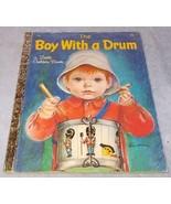 The boy with a Drum Little Golden Book No 588 Eloise Wilkin VG - $9.95