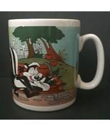 Warner Brothers Store Pepe Le Pew Oversized Mug Penelope Pussycat Romant... - $29.69