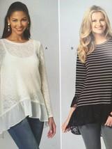 Kwik Sew Sewing Pattern 4134 Misses Ladies Tops Size XS-XL New - $14.10