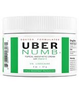 UBER NUMB 5% LIDOCAINE TOPICAL NUMBING CREAM, 2 OUNCE, ADVANCED FORMULA ... - $24.99