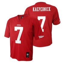 NFL Team Apparel Boys San Francisco 49'ers Kaepernick #7 Jersey 5-6 & 7 NWT - $16.99
