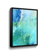 'Float' By Elisa Sheehan Framed Canvas Wall Art - $132.99