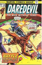 Daredevil Comic Book #132 Marvel Comics 2nd Bullseye 1976 VERY FINE/NEAR MINT - $77.32