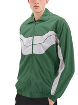 Men's Casual Running Working Out Jogging Gym Fitness Zipper Track Jacket image 7