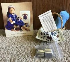 American Girl 1991 Felicity's Shrewsbury Cakes Set 1st Edition Pleasant ... - $150.00
