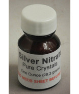 Silver Nitrate 1oz Lab Chemical Photo Replate 28.3 grams - $23.76