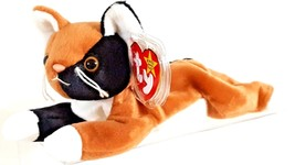 TY BEANIE BABIES 1996 SN 4121 – CHIP THE CALICO CAT – RETIRED – MWMT - $13.86