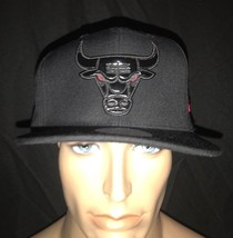 New Era Chicago Bull's Retro 11 Patent Leather Logo 72-10 Adjustable Cap Hat - £40.21 GBP