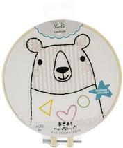 Fabric Editions Needle Creations Easy Stitch Kits Bear - $12.54