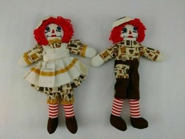 Vintage Handmade Raggedy Ann and Andy Dolls, With outfits Fully Dressed EUC - $96.75