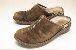 UGG Size 8 Brown Suede Mules Women's - $32.00