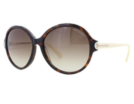 NEW Tom Ford FT 0343 56F Milena Havana Ivory Brown Gradient Sunglasses (NO CASE) - $116.97