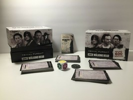 Trivial Pursuit Card Game The Walking Dead AMC 600 Questions Ages 18+ 2+Players - $14.20