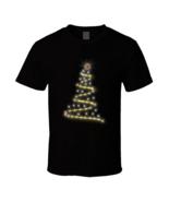 Christmas Bitcoin Light Black T Shirt - $17.99 - $19.99