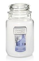 1 Yankee Candle 22 oz Large Jar Candle White Christmas Pine Cedar New One  - $28.82