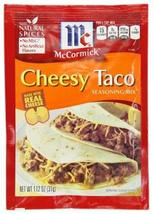 McCormick Cheesy Taco Seasoning Mix 1.12 Oz (6 Pack) - $15.83