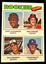 1977 Topps #476 Rookie Catchers Gary Alexander, Rick Cerone, Dale Murphy, Kevin  - $11.00