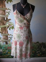 H&M Floral Spaghetti Strap Floral Multi-color Summer Dress Size 10 - $38.61