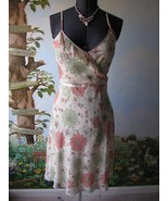 H&M Floral Spaghetti Strap Floral Multi-color Summer Dress Size 10 - $38.61