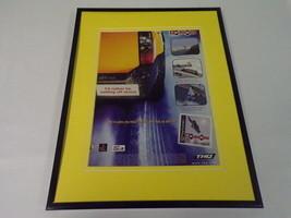 2000 MTV Pure Ride Playstation PS1 Framed 11x14 ORIGINAL Vintage Adverti... - $22.55