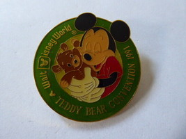 Disney Trading Pins 2358 1991 WDW 4th Annual Teddy Bear Convention - $9.50