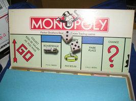 1985 Vintage Monopoly Board Game  No. 0009 - $15.00