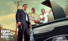 Grand Theft Auto V 5 Poster 8 Print on Huge Sil... - $15.99