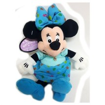 Disney Collectible Minnie Mouse Plush Pal with Faux Amethyst Austrian Crystal Ju - $31.49