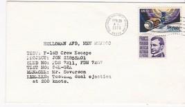 F-16B CREW ESCAPE TEST HOLLOMAN AIR FORCE BASE, FL FEBRUARY 28, 1976 - $1.98
